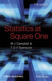 Statistics at Square One | Michael J. Campbell |