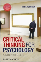 Critical Thinking For Psychology | Mark Forshaw |