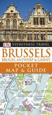 Dk eyewitness pocket map & guides: brussels (2012)
