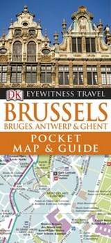Dk eyewitness pocket map & guides: brussels (2012) |  |