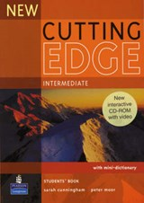 New Cutting Edge Intermediate Students Book and CD-Rom Pack | Sarah Cunningham & Peter Moor |