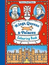 Kings, Queens and Palaces Colouring Book | auteur onbekend |