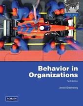 Behavior in Organizations:Global Edition