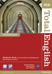 New Total English Intermediate Students' Book (with Active Book CD-ROM) & MyLab