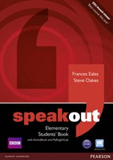 Speakout Elementary. Students' Book (with DVD / Active Book) & MyLab | Frances Eales |