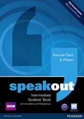 Speakout Intermediate. Students' Book (with DVD / Active Book) & MyLab