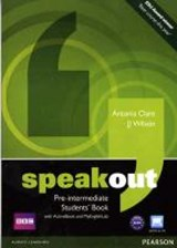 Speakout Pre-intermediate. Students' Book (with DVD / Active Book) & MyLab | J. J. Wilson |