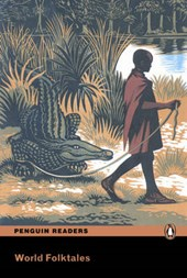 World Folktales, Level 5, Pearson English Reader Book with Audio CD [With CD (Audio)]