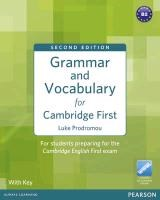 Grammar and Vocabulary for Cambridge First (with Key) | Luke Prodromou |