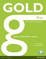 Gold First Exam Maximiser (with Key) and Audio CD | Jacky Newbrook |