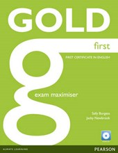 Gold First Exam Maximiser (no Key) and Audio CD