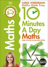 10 Minutes a Day Maths Ages 5-7 Key Stage 1 | Carol Vorderman |