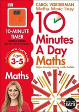 10 Minutes a Day Maths Ages 3-5 Key Stage 0 | Carol Vorderman |