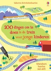 Activiteitenkaarten 100 dingen om te doen in de trein voor jonge kinderen