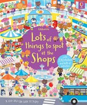 Lots of Things to Spot at the Shops Sticker Book | Hazel Maskell |