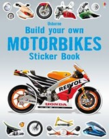 Build Your Own Motorbikes Sticker Book | Simon Tudhope |