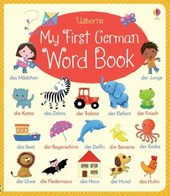 My First German Word Book | Felicity Brooks |