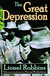 The Great Depression | Lionel Robbins |