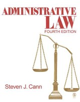Administrative Law | Steven J. Cann |