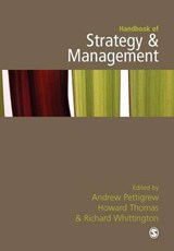 Handbook of Strategy and Management | Andrew M. Pettigrew |