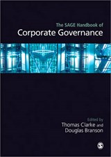 The SAGE Handbook of Corporate Governance | auteur onbekend |