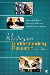 Reading and Understanding Research | Lawrence Locke |