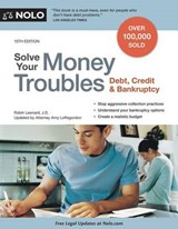 Solve Your Money Troubles | Leonard, Robin ; Loftsgordon, Amy |