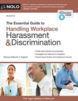 The Essential Guide to Handling Workplace Harassment & Discrimination | Deborah England |