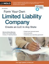 Form Your Own Limited Liability Company | Anthony Mancuso |