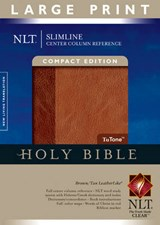 Slimline Center Column Reference Bible-NLT-Large Print Compact | auteur onbekend |