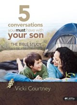 5 Conversations You Must Have with Your Son - Bible Study Book | Vicki Courtney |