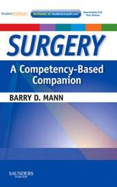 Surgery  A Competency-Based Companion | Barry D Mann |