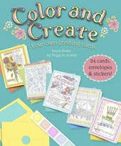 Color and Create Your own greeting Cards