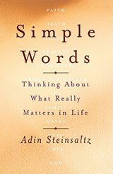 Simple Words | Adin Steinsaltz |