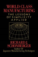World Class Manufacturing | Richard J. Schonberger |