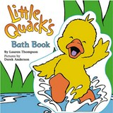 Little Quack's Bath Book | Lauren Thompson |