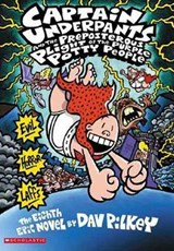 Captain Underpants and the Preposterous Plight of the Purple Potty People | Dav Pilkey |