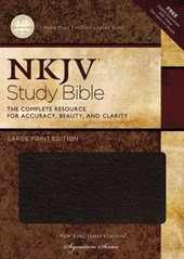 Study Bible-NKJV-Large Print [With CDROM]