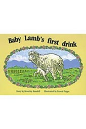 Baby Lamb's First Drink