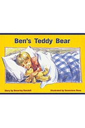 Ben's Teddy Bear, Leveled Reader