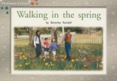 Walking in Spring, Leveled Reader