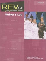 REV It Up! Writer's Log, Course | Isabel L. Beck |