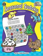 Seasonal Soduoku, Grades 3-4