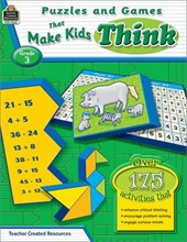 Puzzles and Games That Make Kids Think, Grade