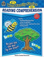 Word Family Stories for Reading Comprehension Grades K-1