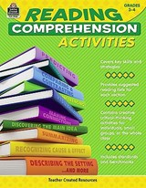 Reading Comprehension Activities, Grade 3-4 | Jennifer Cripe |