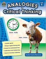 Analogies for Critical Thinking Grade | Ruth Foster |