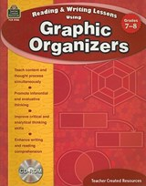 Reading & Writing Lessons Using Graphic Organizers, Grades 7-8 [With CDROM] | Debra J. Housel |