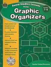 Social Studies Lessons Using Graphic Organizers, Grades 7-8 [With CDROM]