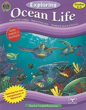 Exploring Ocean Life, Grades 5-6 [With Transparency(s)] | Robert W. Smith |